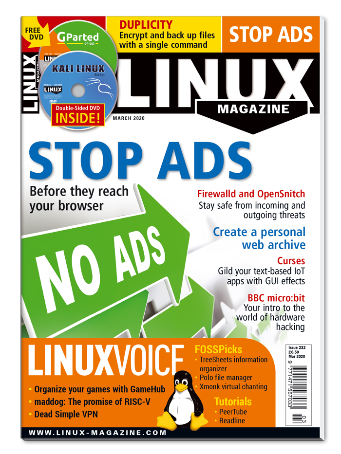 Linux Magazine #232 - Print Issue