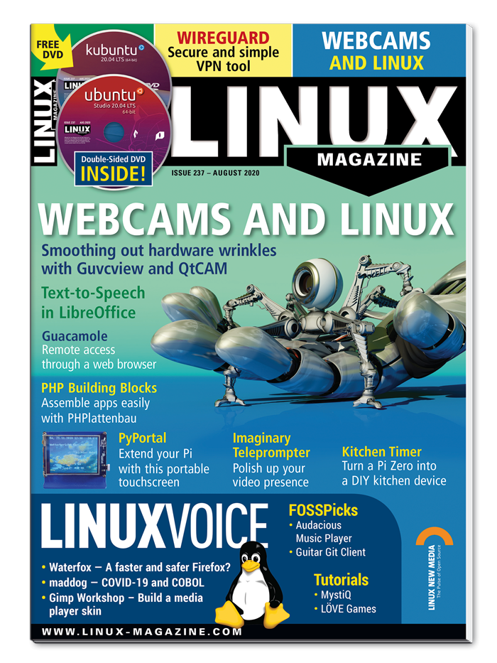 Linux Magazine #237 - Print Issue