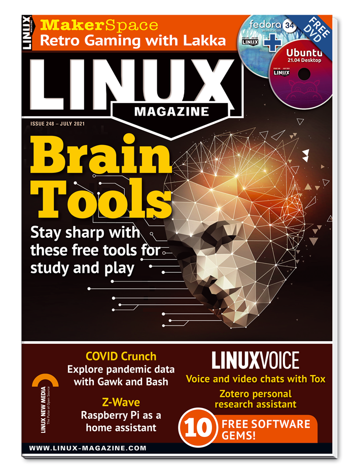 Linux Magazine Trial Digital Subscription - 3 issues, 2017 rate