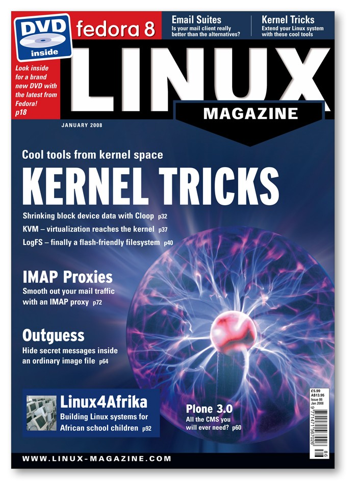 Linux Magazine 2008 - Digital Issue Archive