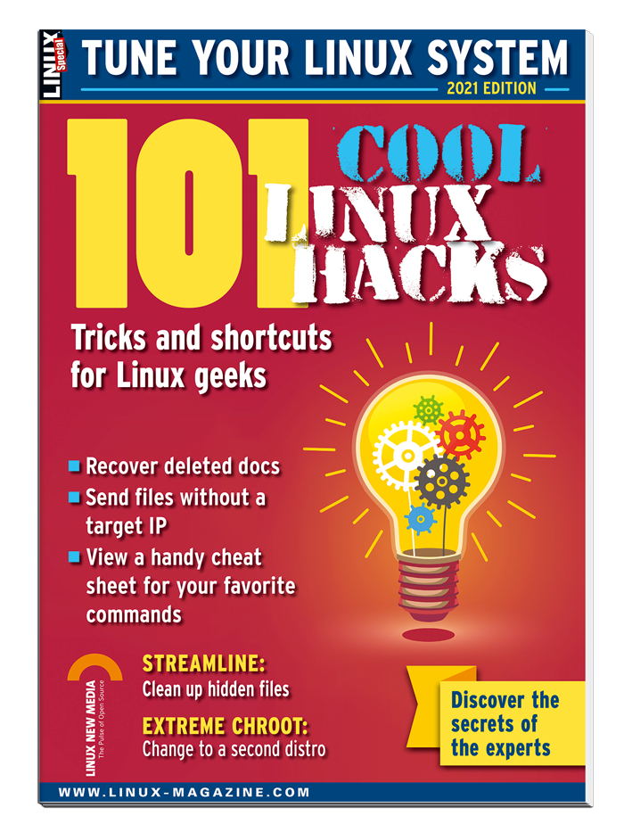 101 Cool Linux Hacks, 2021 Edition - Special Edition #42 - Print Issue